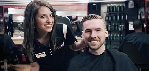 Sport Clips Haircuts of Fort Wright(KY)​ stylist hair cut